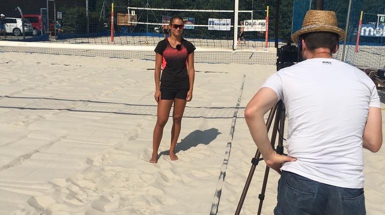 Martina Bonnerová, reprezentantka ČR v plážovém volejbale, veřejně podpořila Dishygo